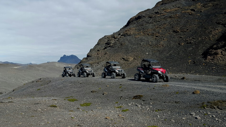 buggy snowmobiling