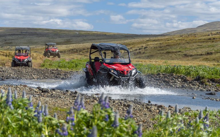 Splashing in the river - Buggy 3 hour off-road tour in Reykjavíik