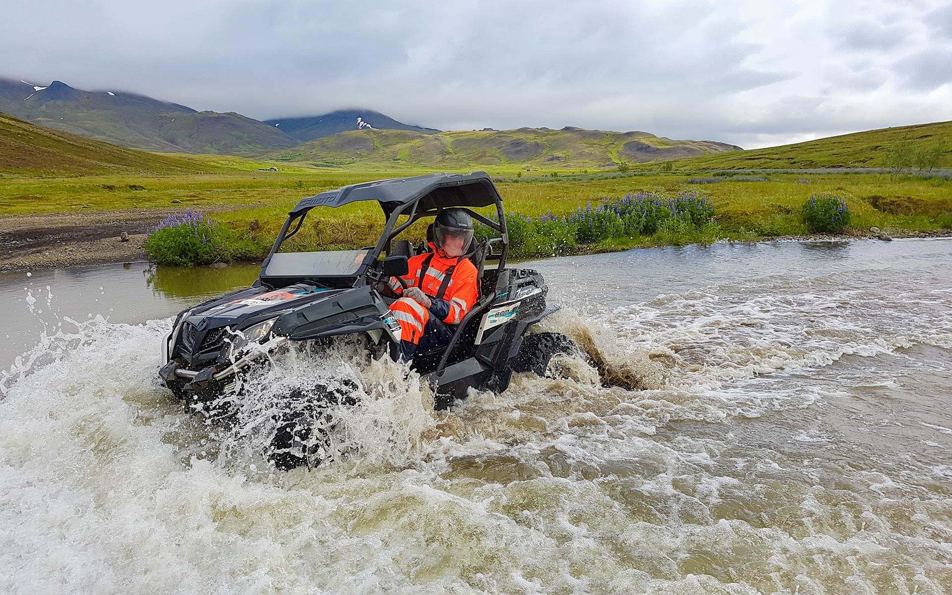 Off-road ATV Buggy Tours in Iceland