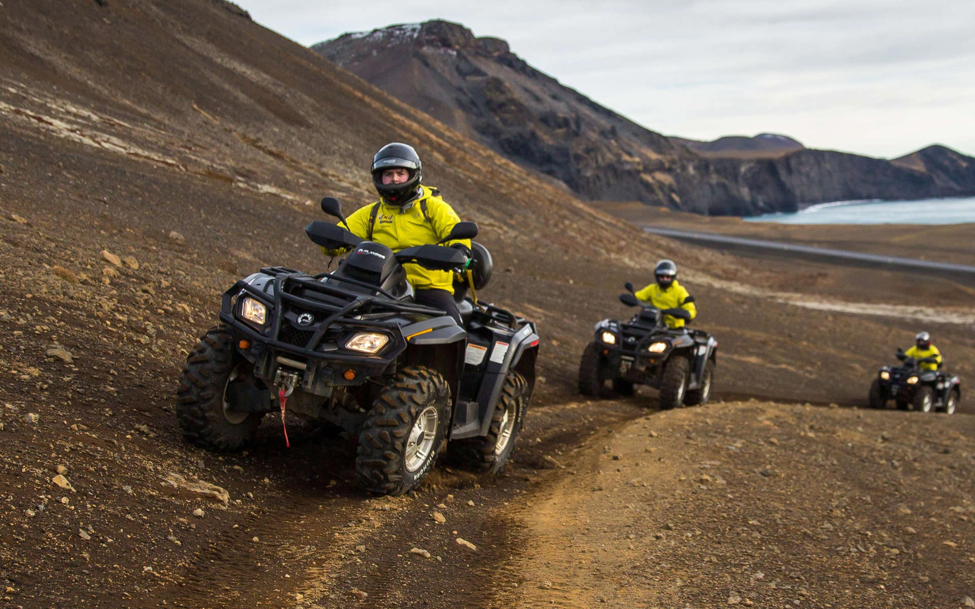 Panorama ATV tour in Iceland