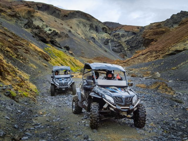 2 hours of adrenaline fueled Buggy tour along the Golden Circle